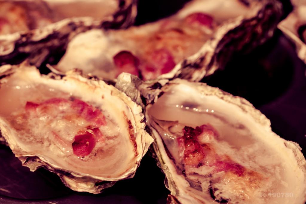 huîtres à la champenoise