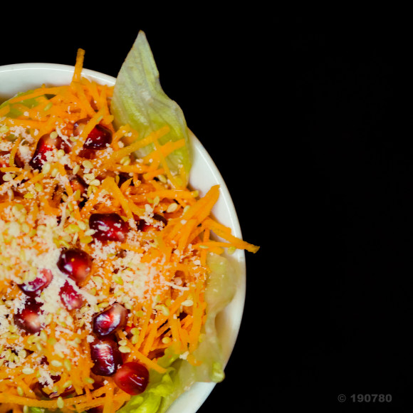 Salade grenade / carottes