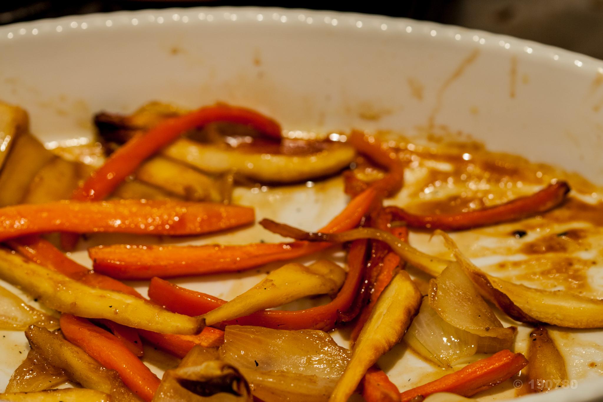 Accompagnement facile carottes et panais r tis au four for Accompagnement cuisine