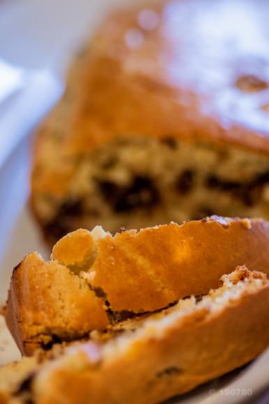 Cake banane chocolat