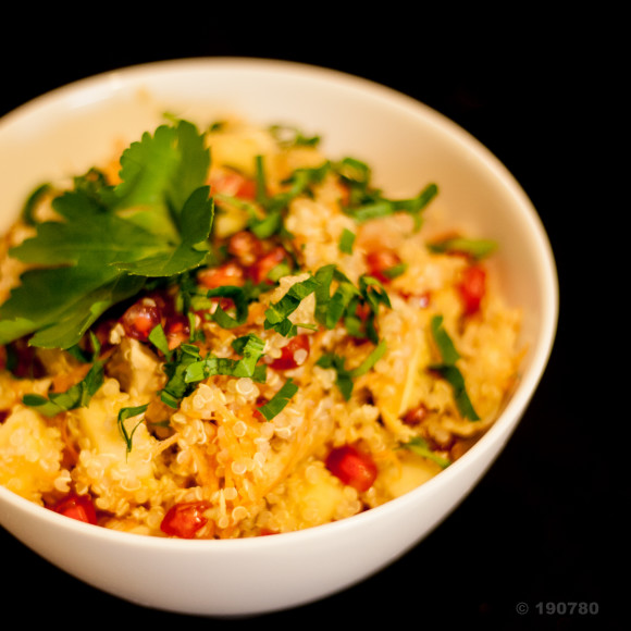 salade quinoa grenade