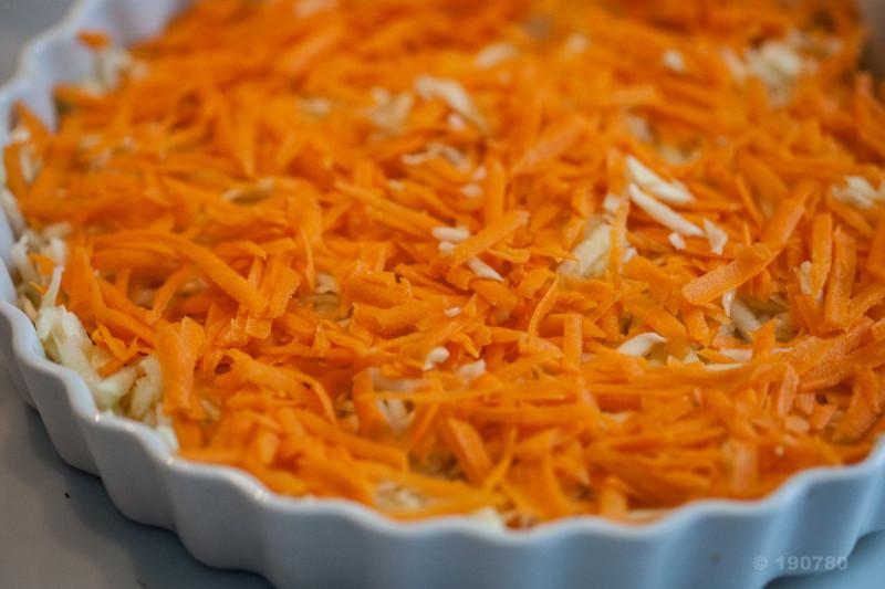 gratin de courgettes et carottes