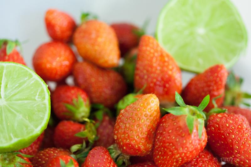 Crumble aux fraises