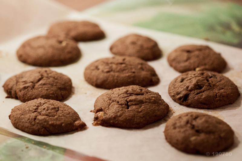 cookies 3 chocolats banane