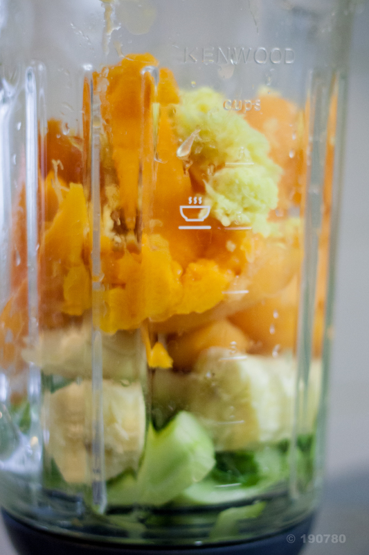 Smoothie melon - mangue