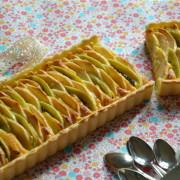 Tarte pommes - kiwis