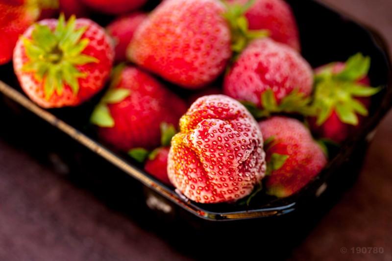 fraises congelées