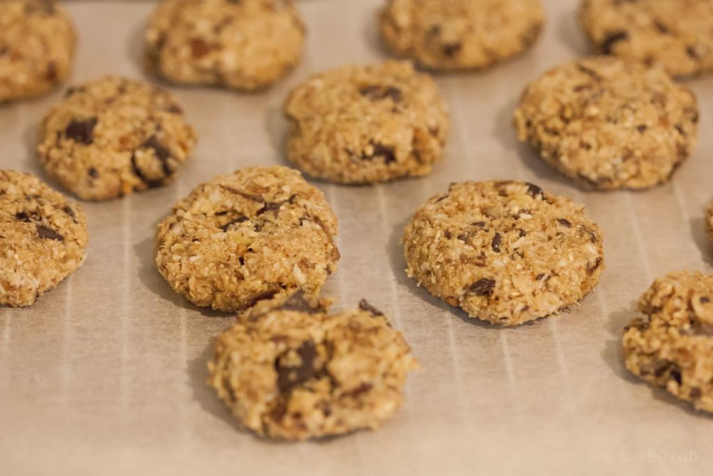 Recette de cookies aux spéculoos sans beurre 1
