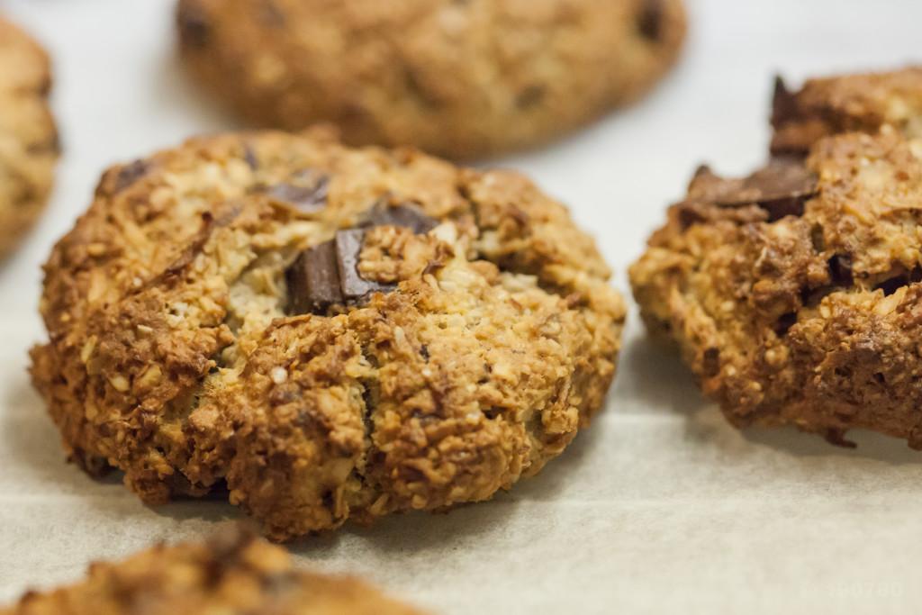 Recette de cookies aux spéculoos sans beurre 3