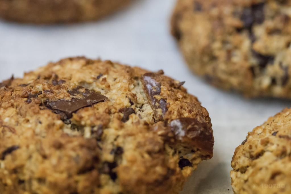 Recette de cookies aux spéculoos sans beurre 6