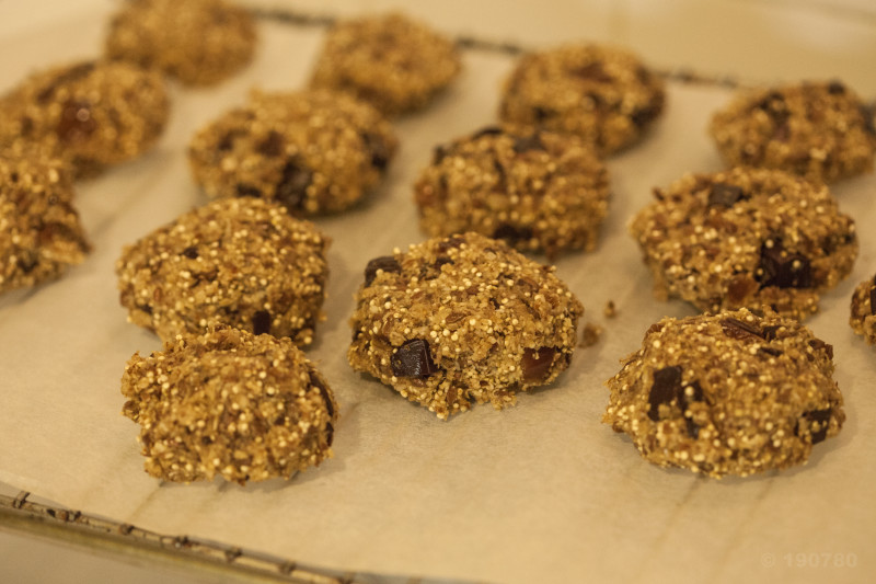 cookies quinoa chocolat banane