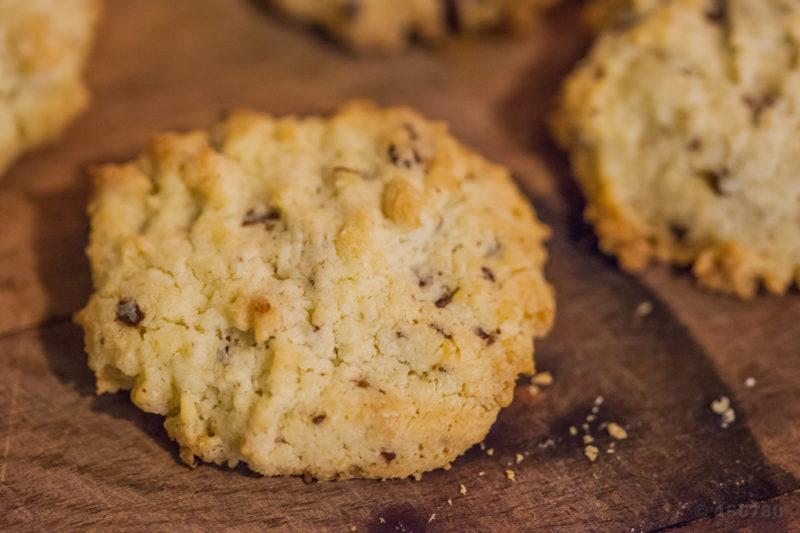 Cookies à la noix de coco et chocolat 2