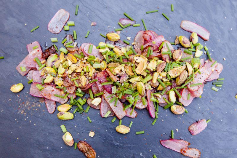 radis beurre pistache