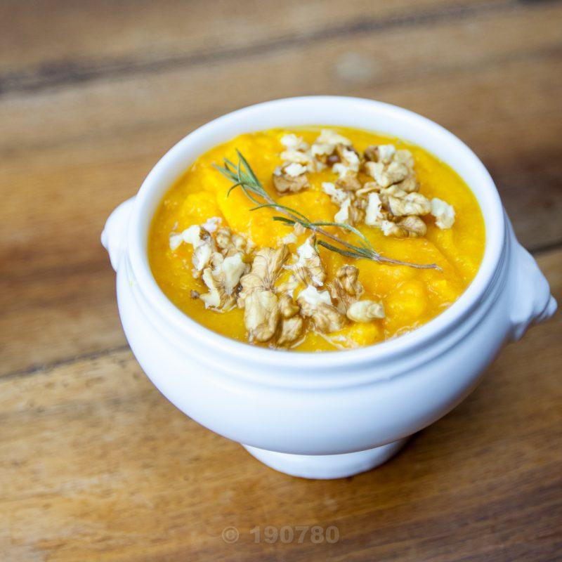 soupe de potimarron et carottes par Charles cuisine