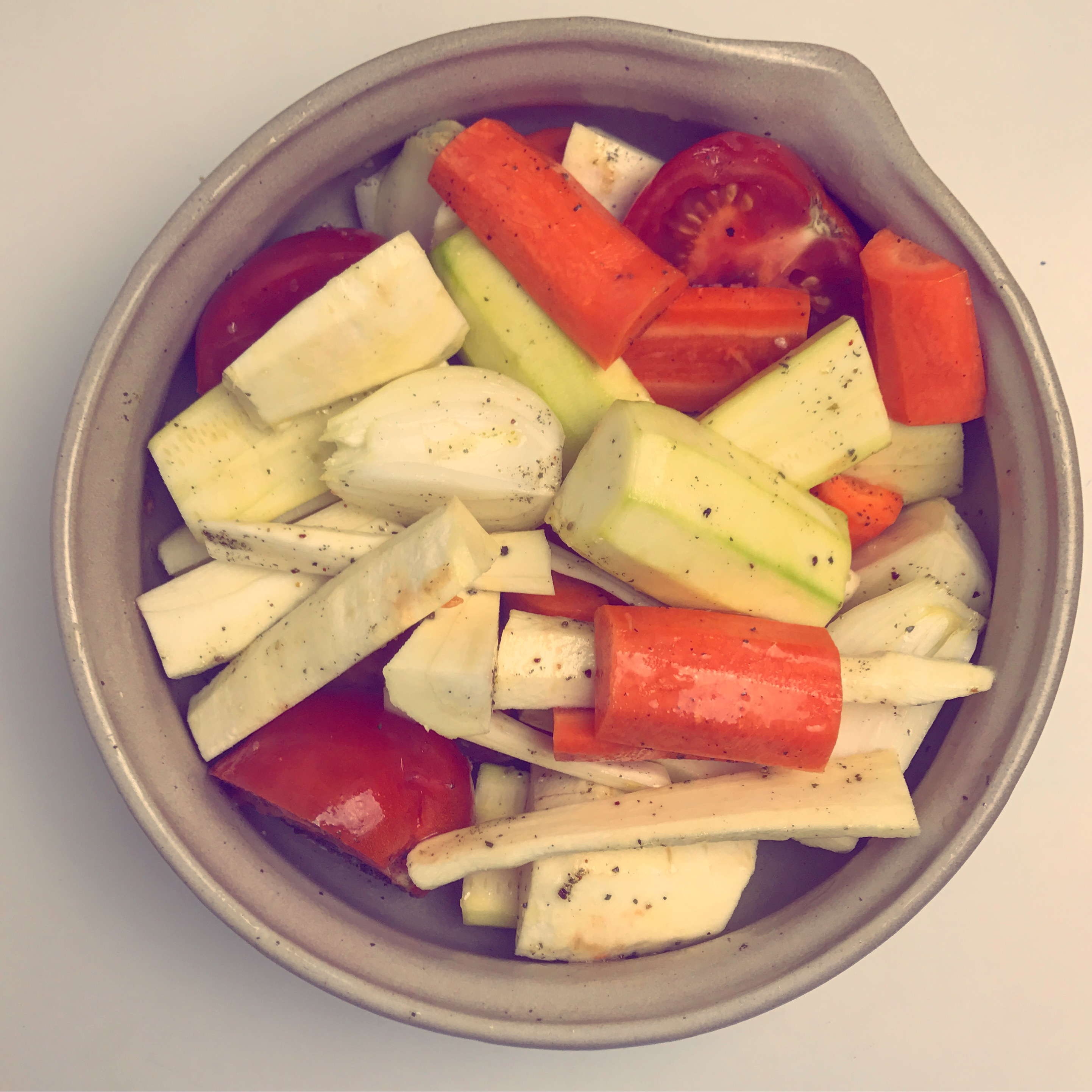 carottes et panais rotis
